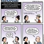 """This Week's Cartoon: """"Snippets of Conversation With Cartoonists at the Festival of Cartoon Art"""""""