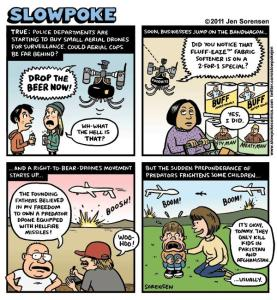 "This Week's Cartoon: ""Drones Among Us"""