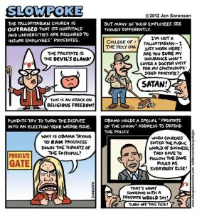 This Week's Comic: Fallopitarians Protest Health Care Law