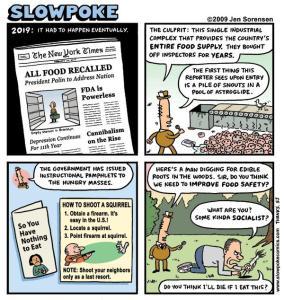 "This Week's Cartoon: ""All Food Recalled"""