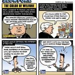 """This Week's Cartoon: """"The Color of Welfare"""""""