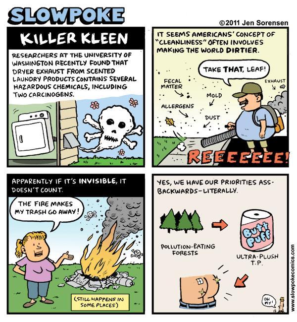 "This Week's Cartoon: ""Killer Kleen"""