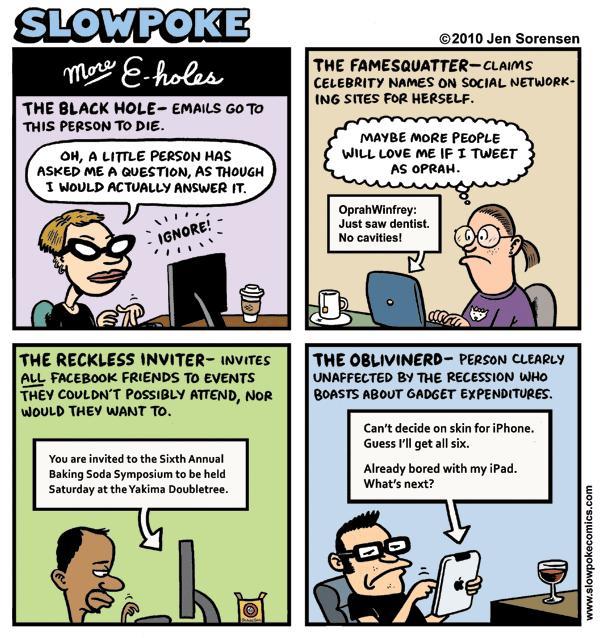 "This Week's Cartoon: ""More E-holes"""