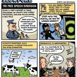 "This Week's Cartoon: ""The Free speech Dimension"""