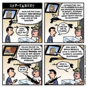 """This Week's Cartoon: """"Off-Target"""""""