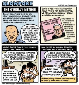 This Week's Cartoon: The O'Reilly Method