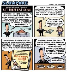 """This Week's Cartoon: """"Let Them Eat Slime"""""""