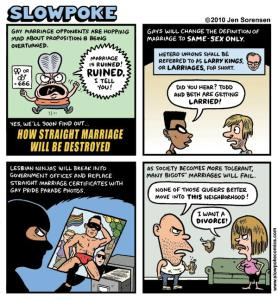 """This Week's Cartoon: """"How Straight Marriage Will Be Destroyed"""""""