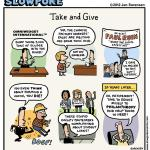This Week's Cartoon: Take and Give