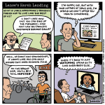 Lance's Harsh Landing