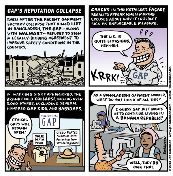 Gap's Reputation Collapse