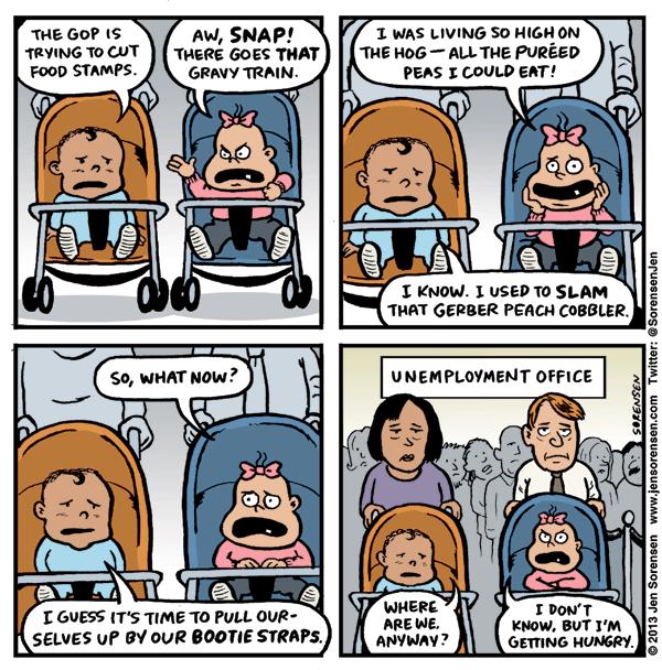 Those Lazy, No-Good Babies