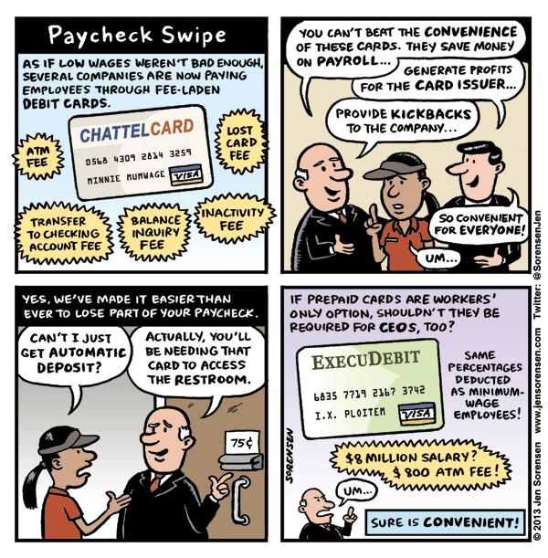 Paycheck Swipe
