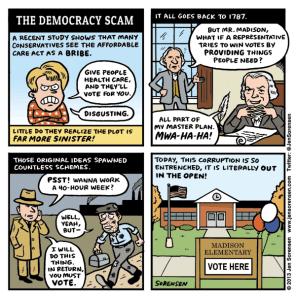The Democracy Scam