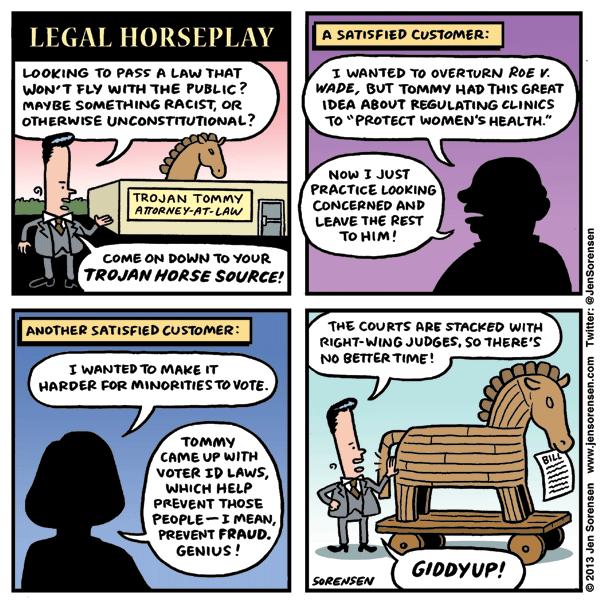 Legal Horseplay