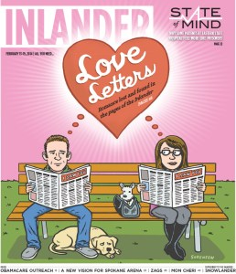 Valentine's Day cover illustration