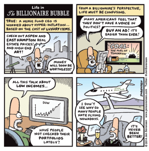 Life in the Billionaire Bubble