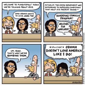 Punditspew: ISIS edition