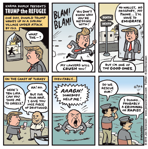 Trump the Refugee