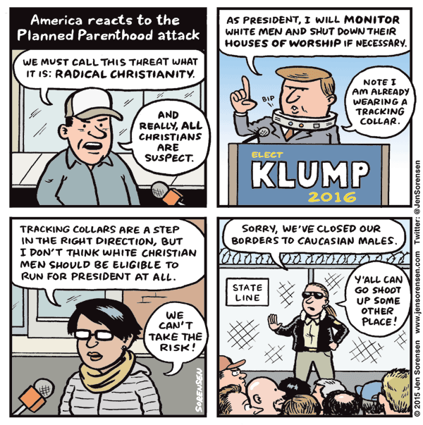 America reacts to the Planned Parenthood attack