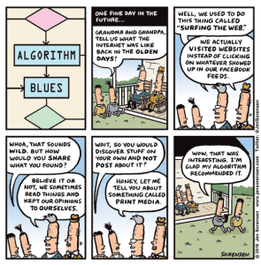 Cartoon: Algorithm Blues