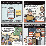 Canned patriotism