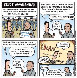 Crude Awakening at Standing Rock