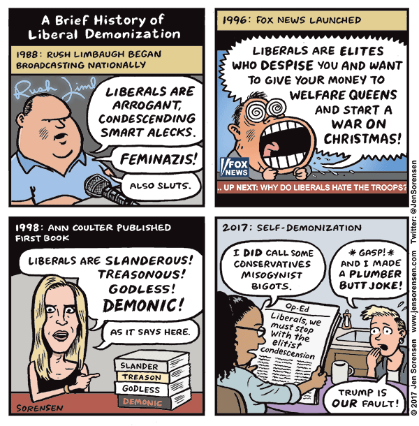 A brief history of liberal demonization