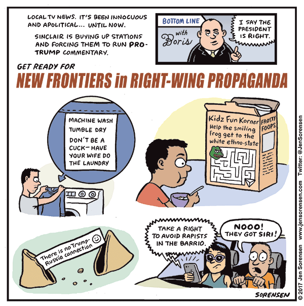 New Frontiers in Right-Wing Propaganda