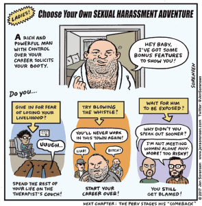 Choose your own sexual harassment adventure