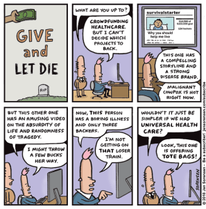 Give and Let Die