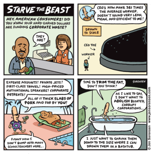 Cartoon Flashback: Starve the Beast