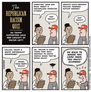 The Republican racism quiz