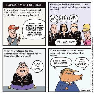 Impeachment Riddles