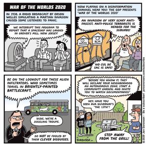 Suburban Invasion