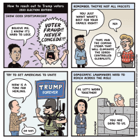 How to Reach Out to Trump Voters 2020