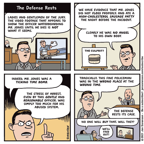 The Defense Rests