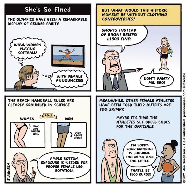 She's so fined