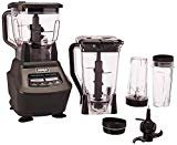 Ninja Mega Kitchen System (BL770) Blender/Food Processor with 1500W Auto-iQ Base, 72oz Pitcher, 64oz Processor Bowl, (2) 16oz Cup for Smoothies, Dough & More  by Ninja
