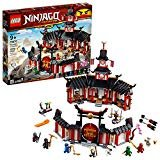LEGO NINJAGO Legacy Monastery of Spinjitzu 70670 Battle Toy Building Kit includes Ninja Toy Weapons and Training Equipment for Creative Play (1,070 Pieces)  by LEGO