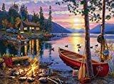 Buffalo Games - Darrell Bush - Canoe Lake - 1000 Piece Jigsaw Puzzle  byBuffalo Games