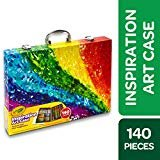 Crayola Inspiration Art Case Coloring Set, Gift for Kids Age 5+  by Crayola
