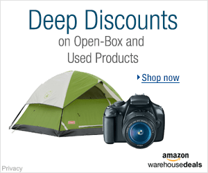Shop Amazon Warehouse Deals - Deep Discounts on Open-box and Used Products