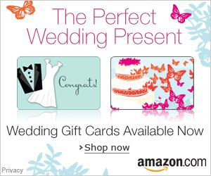 Shop Amazon - Gift Cards for Weddings