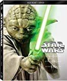 Star Wars Trilogy Episodes I-III (Blu-ray + DVD)  DVD Included  Hayden Christiansen(Actor),Ewan McGregor(Actor),&1more