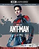 ANT-MAN [Blu-ray]  4K  Paul Rudd (Actor, Writer), Evangeline Lilly (Actor), & 1 more