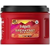 Folgers Breakfast Blend Mild Roast Ground Coffee, 21.6 Ounces (Pack of 3)  by Folgers