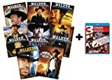 Walker, Texas Ranger: The Complete Series DVD Set + Chuck Norris 3-Movie Blu-ray Collection (Seasons 1, 2, 3, 4, 5, 6, 7, 8 + Delta Force / Lone Wolf McQuade / Code of Silence)  Chuck Norris (Actor), Noble Willingham (Actor)