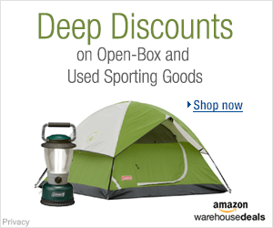 Shop Amazon Warehouse Deals - Deep Discounts on Open-box and Used Sports Equipment