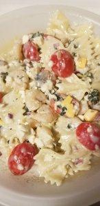 Shrimp Mushroom Pasta Salad